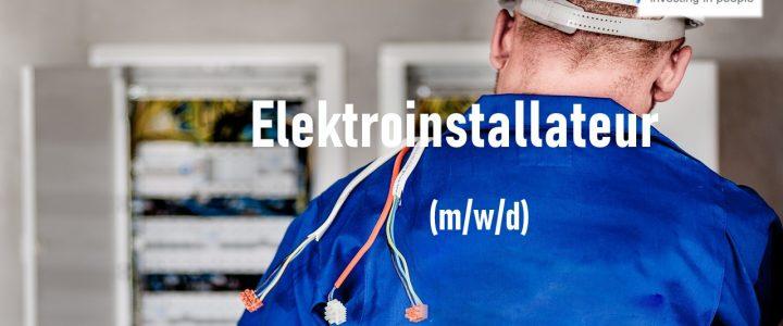 Elektroinstallateur / Elektromechaniker (m/w/d)